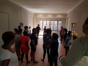 16 days of activism against Gender based Violence on 23 November - Self-defence classes